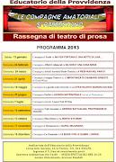 CALENDARIO COMMEDIE anno 2013. Antonella Lo Presti. Pubblicato da Cav.