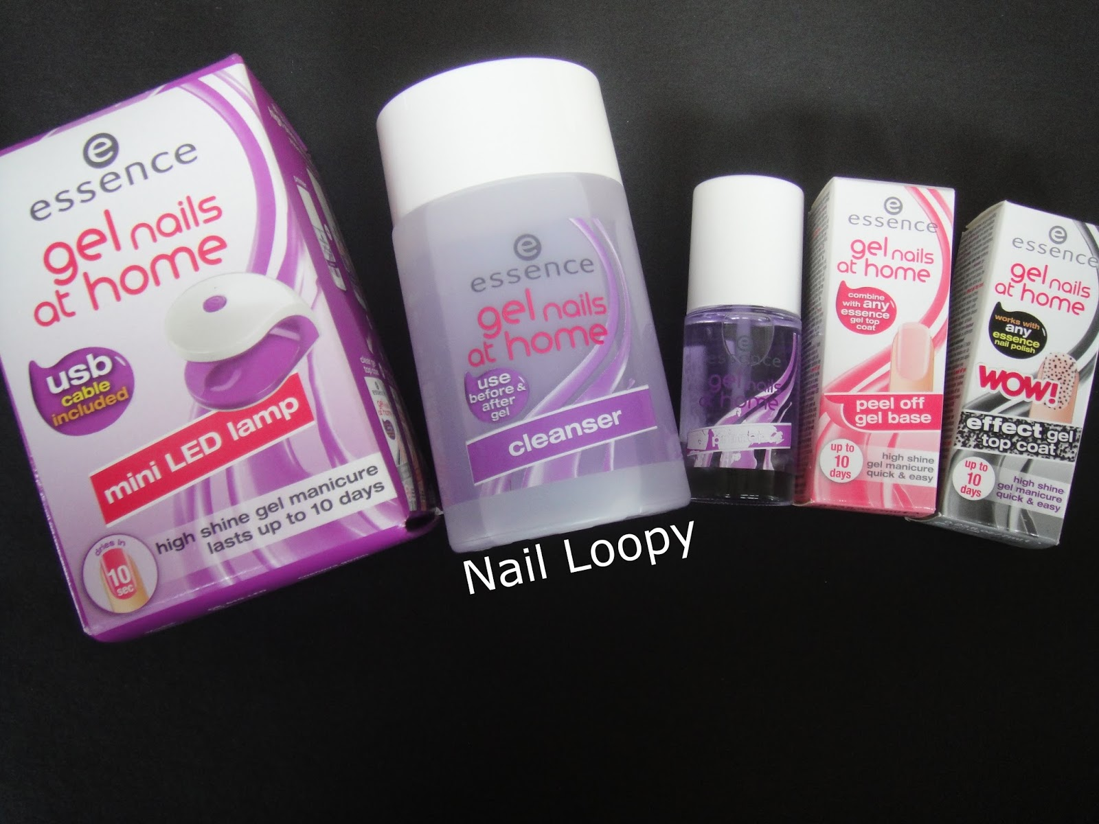 nail loopy essence gel nails at home tutorial review. Black Bedroom Furniture Sets. Home Design Ideas