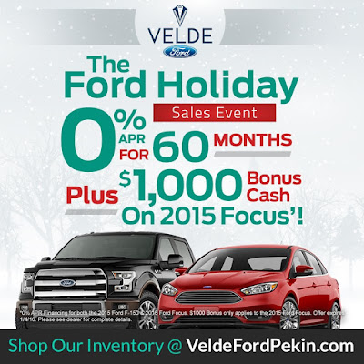 Celebrate the Holidays with the Ford Sales Event
