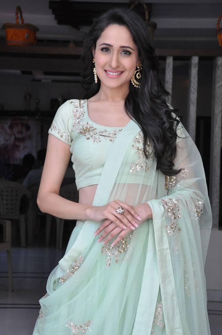 Actress Pragya Jaiswal Latest Cute Hot Photos Gallery At Kanche Release Press Meet