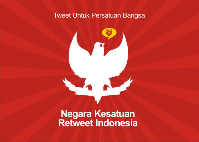 NKRI, Negara Kesatuan Retweet Indonesia