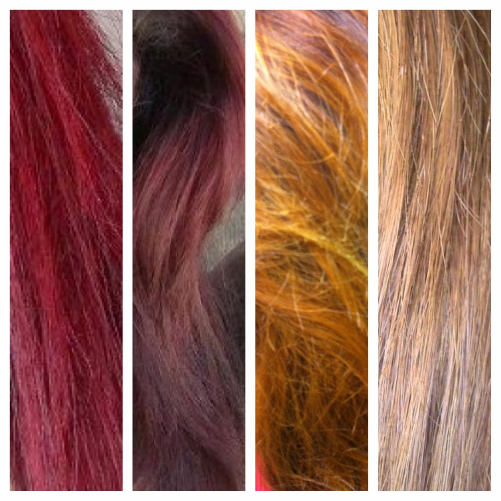 the invisible lemongrass -: my hair journey: red to honey caramel ...