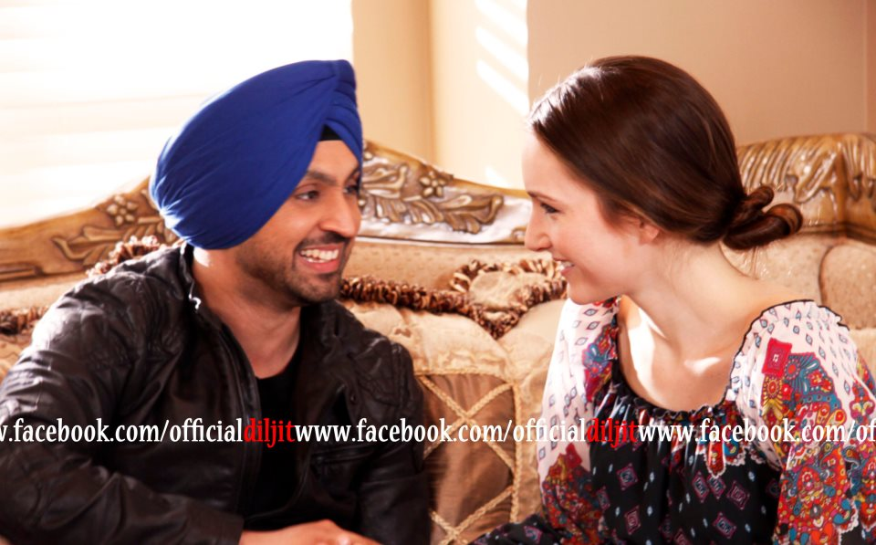 Funny Diljit Dosanjh on the set of Jatt and Juliet