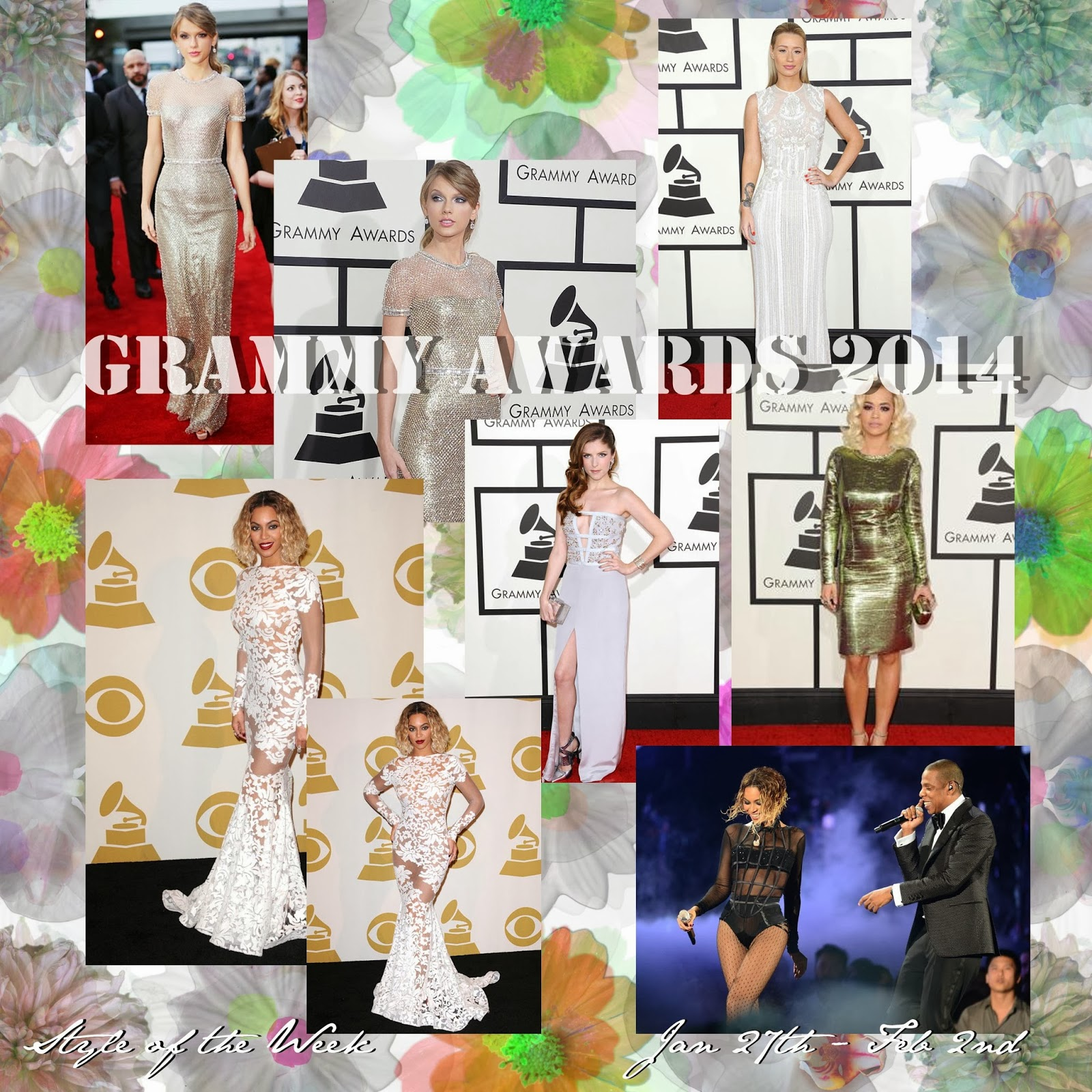 STYLE OF THE WEEK : THE GRAMMYS