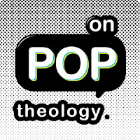 on pop theology, logo, OPT, podcast