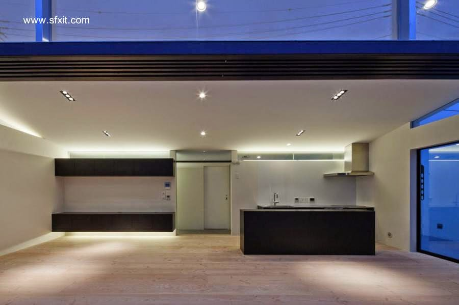Arquitectura de casas la iluminaci n de las casas residenciales - Iluminacion de interiores led ...