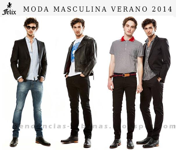Ropa de moda para hombre verano 2014 Felix