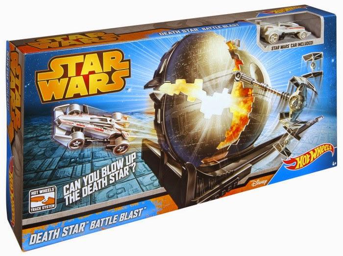 JUGUETES - Star Wars : Hot Wheels  Batalla Estrella de la Muerte  Producto Oficial | Mattel | A partir de 4 años