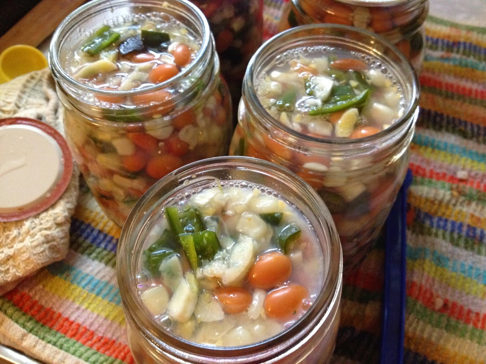 Headspace: Something New: Pickled Pintos, Corn, and Poblano Peppers