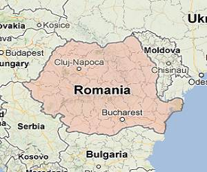 Romania_google_map