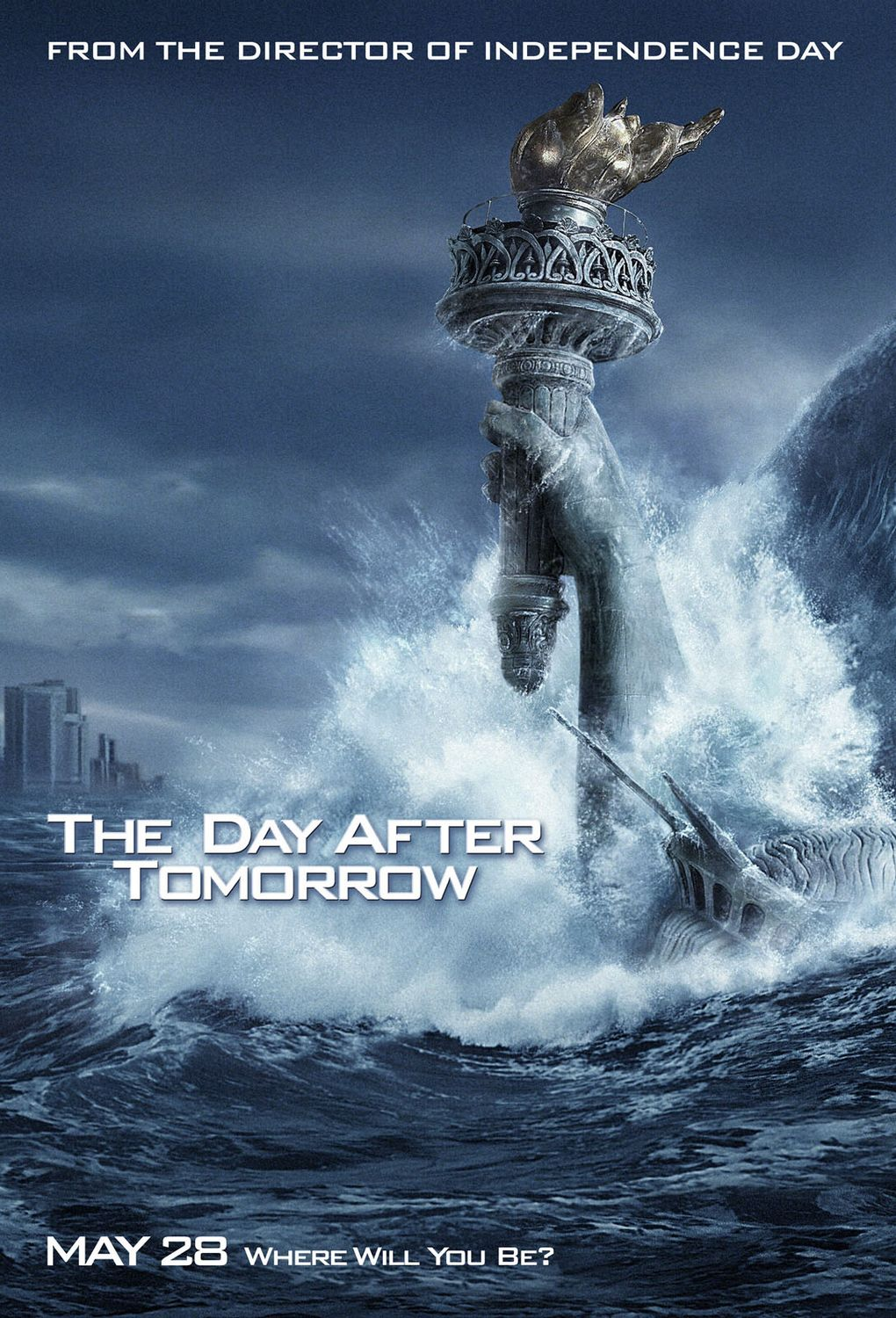 the day after tommorow After climatologist jack hall (dennis quaid) is largely ignored by un officials when presenting his environmental concerns, his research proves true when an enormous.
