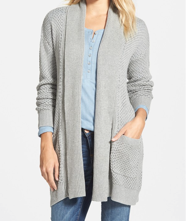 Fall Fashion - chunky knit cardigan
