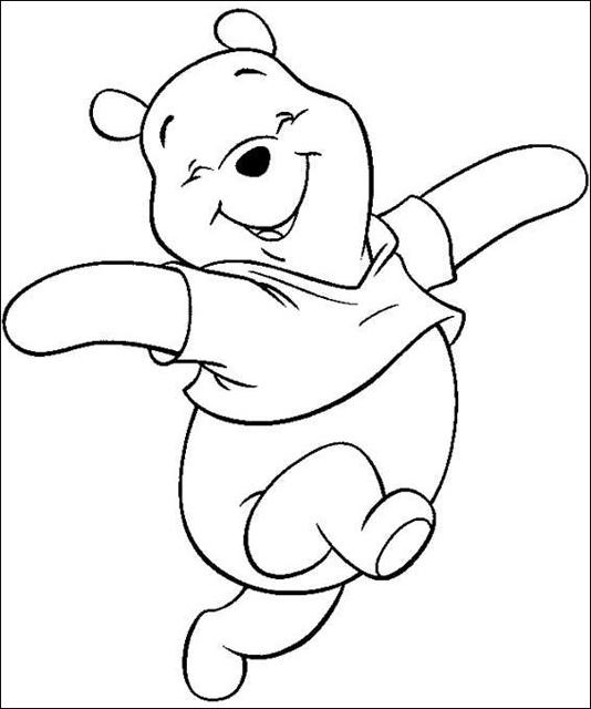 COLOREA TUS DIBUJOS: Winnie Pooh para colorear