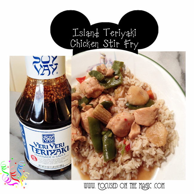 Soy Vay Veri Veri Teriyaki Island Teriyaki Chicken and Vegetables