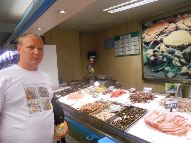 морепролукты в Испании