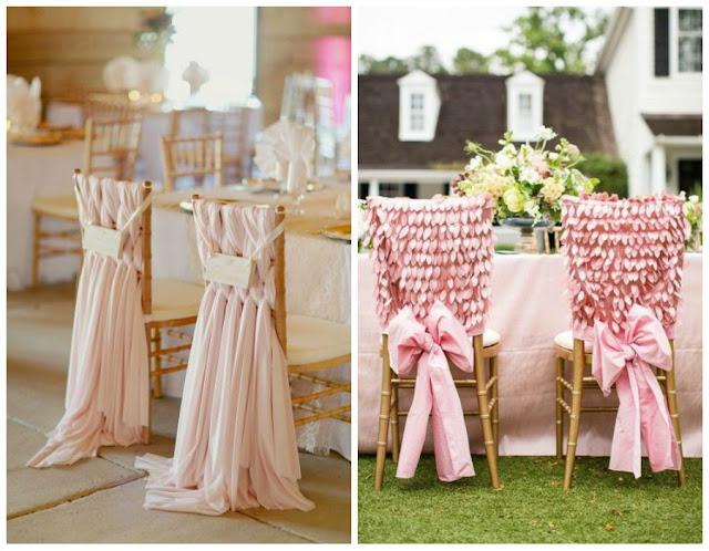 Decoraci n f cil decorar con telas las sillas para una boda for Telas para sillas