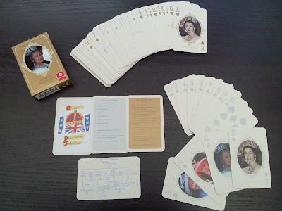 playing cards, deck of cards, Jubilee cards