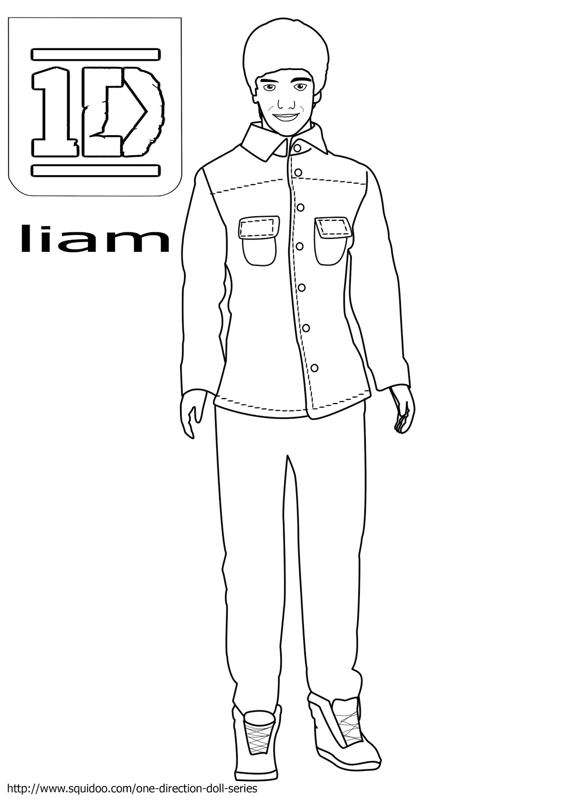 one direction coloring pages liam payneone direction coloring pages niall