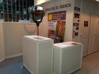 Aquí podéis ver el stand de información de las Consultas de Videncia.