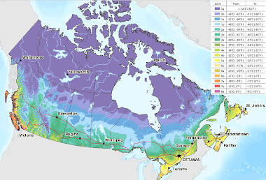 Canada Plant Hardiness Zones