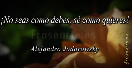 Citas para pensar de Alejandro Jodorowsky