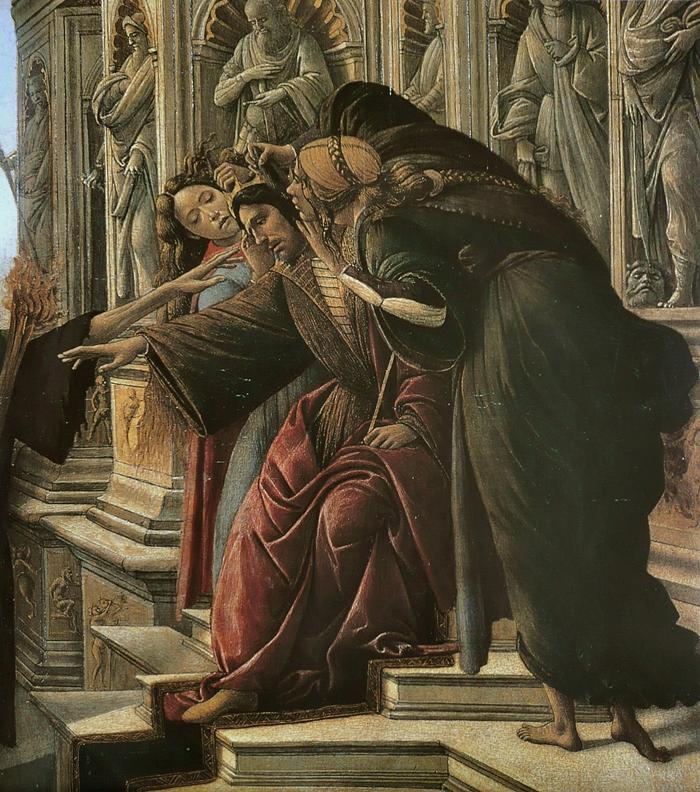 La Calunnia 1496 | Sandro Botticelli 1445-1510