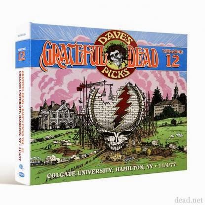 Dave's Picks Volume 12 to feature Grateful Dead in Hamilton, NY 11/4/77
