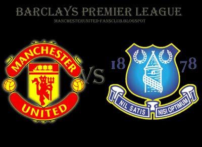 Manchester United Barclays Premier League vs Everton