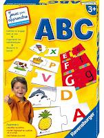 Jeu éducatif pour l'apprentissage des lettres : ABC