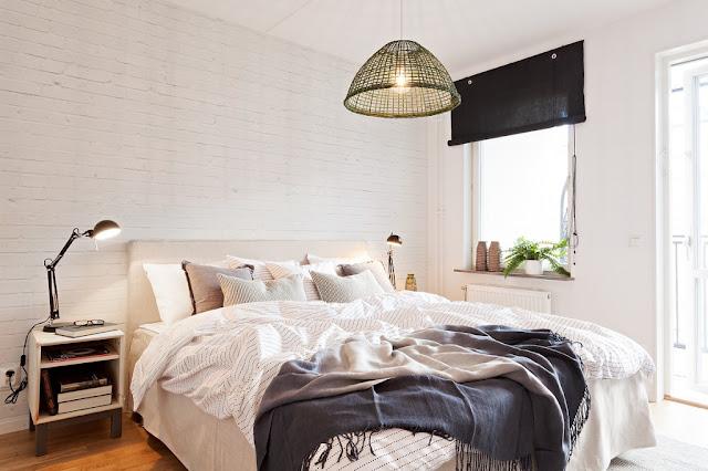 apartamento decorado, estilo escandinavo decoração, blog Achados de Decoração