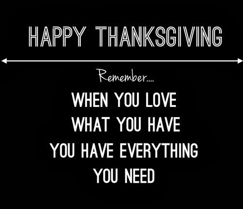 Best Happy Thanksgiving Quotes For Facebook