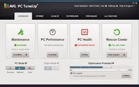 Interfaz de Tuneup utilities 2014