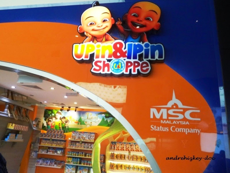 upin ipin store at klia 2