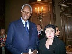 *M. Abdou DIOUF, Secrétaire Général de l'Organisation Internationale de la Francophonie & Mor