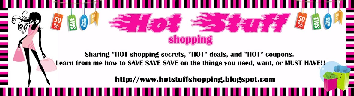 HOT STUFF SHOPPING WEEKLY SHOPPING LISTS