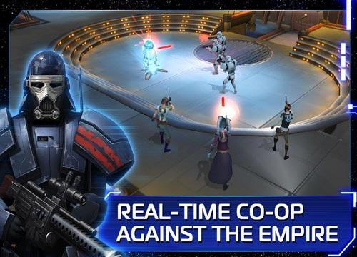 لعبة حرب النجوم Star Wars للموبيل والتابلت