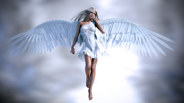 Beautiful White Angel