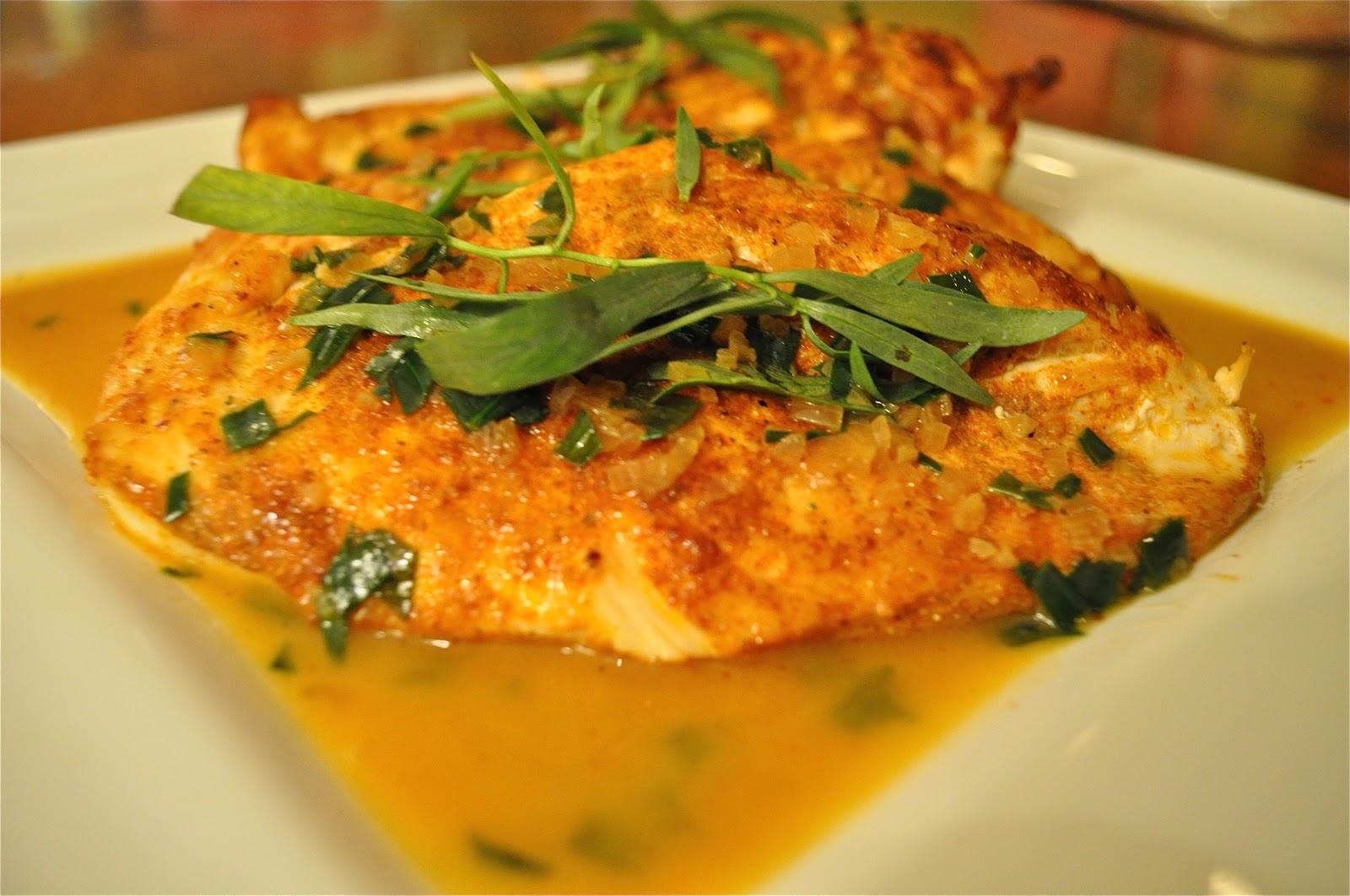 Chicken Breasts With Tarragon Recipes — Dishmaps