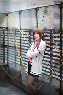 Steins;Gate Makise Kurisu Cosplay by Chamaro
