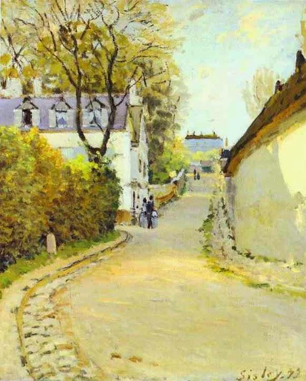 Art et glam: Alfred Sisley, ses peintures et citations