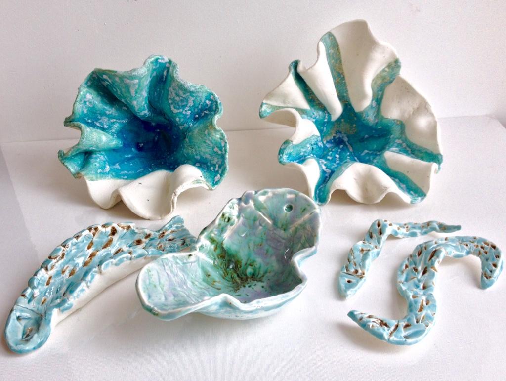 Porcelaine Animaux de la mer