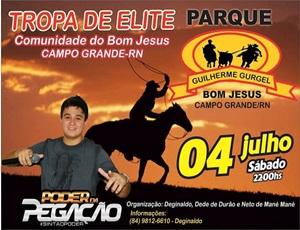 Tropa de Elite no Parque Guilherme Gurgel na Comunidade Bom Jesus em Campo Grande