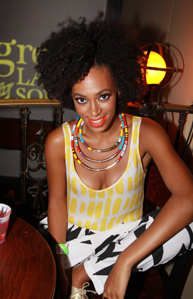 Solange Knowles Tribal Inspired Necklace Is An Appealing Way To Make A