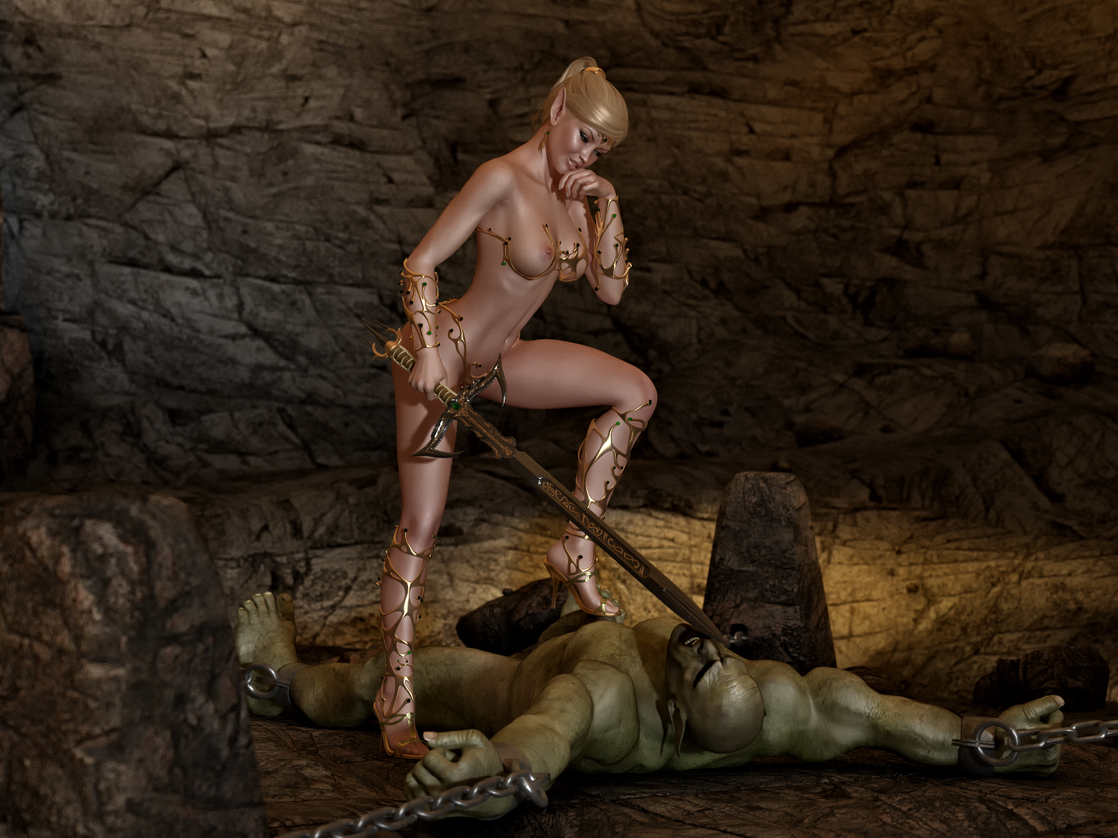 Warrior woman forced sex video sexy movies