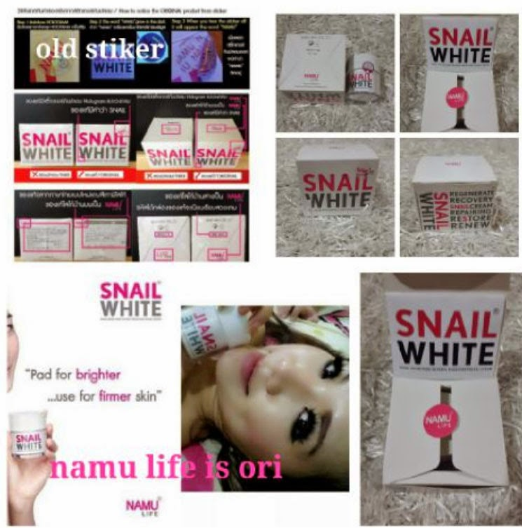 snail white cream origional