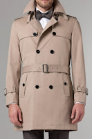 Indochino Tan Trench Coat