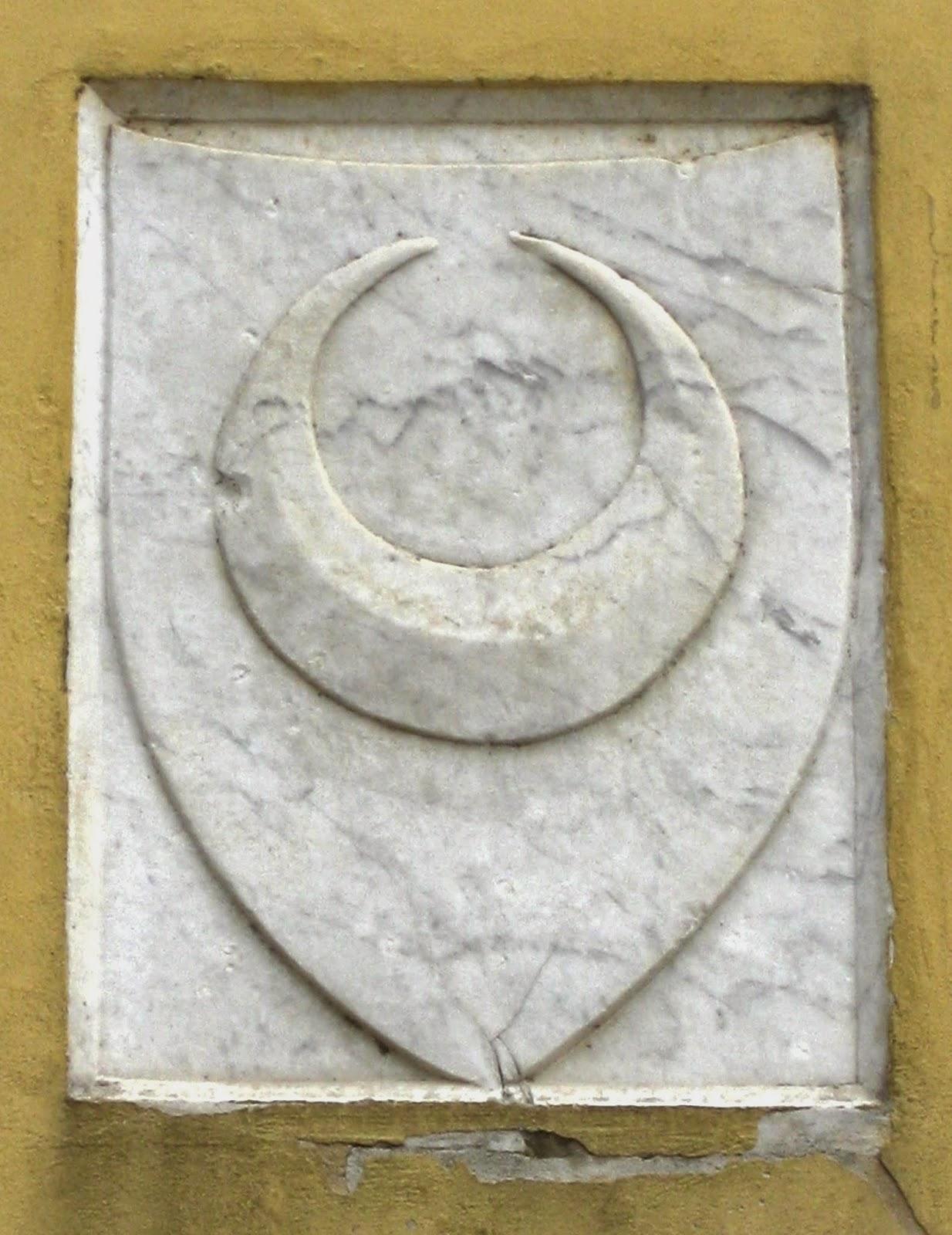 Luni Moon, San Pietro Church Avenza (Carrara) 1187 AD