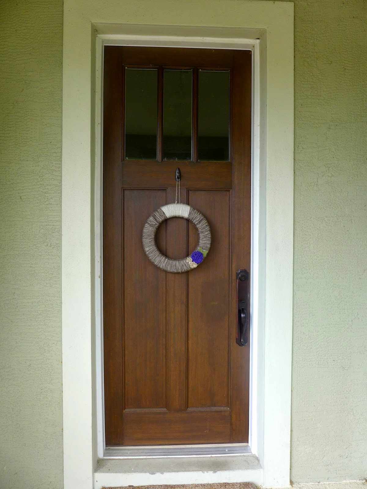 Craftsman Front door from Collis roofing in Orlando