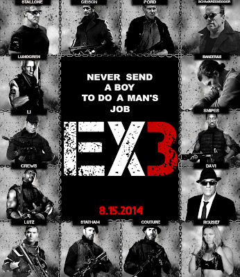 The Expendables 3 2014 DVDScr