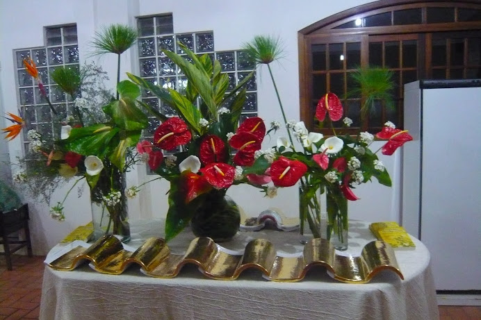 Evento com a participação de Ikebanas em  - Guaramirim -SC.